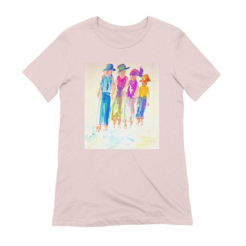 4 LADIES Women's Extra Soft T-Shirt by designsbydana's Artist Shop