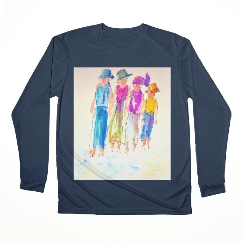 4 LADIES Women's Performance Unisex Longsleeve T-Shirt by designsbydana's Artist Shop