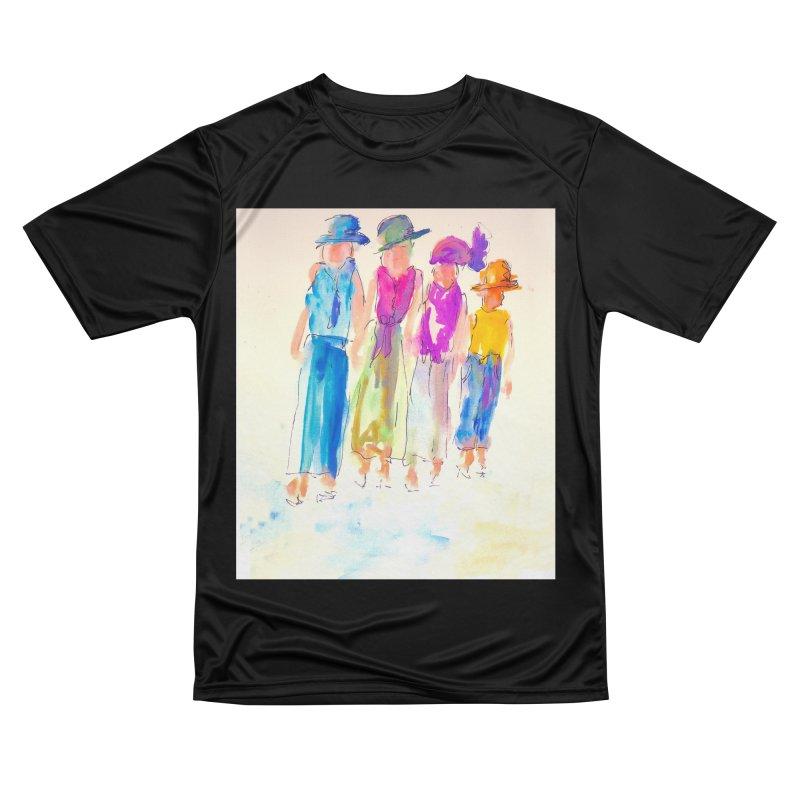 4 LADIES Women's Performance Unisex T-Shirt by designsbydana's Artist Shop