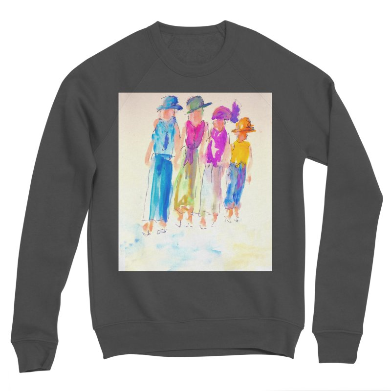 4 LADIES Women's Sponge Fleece Sweatshirt by designsbydana's Artist Shop