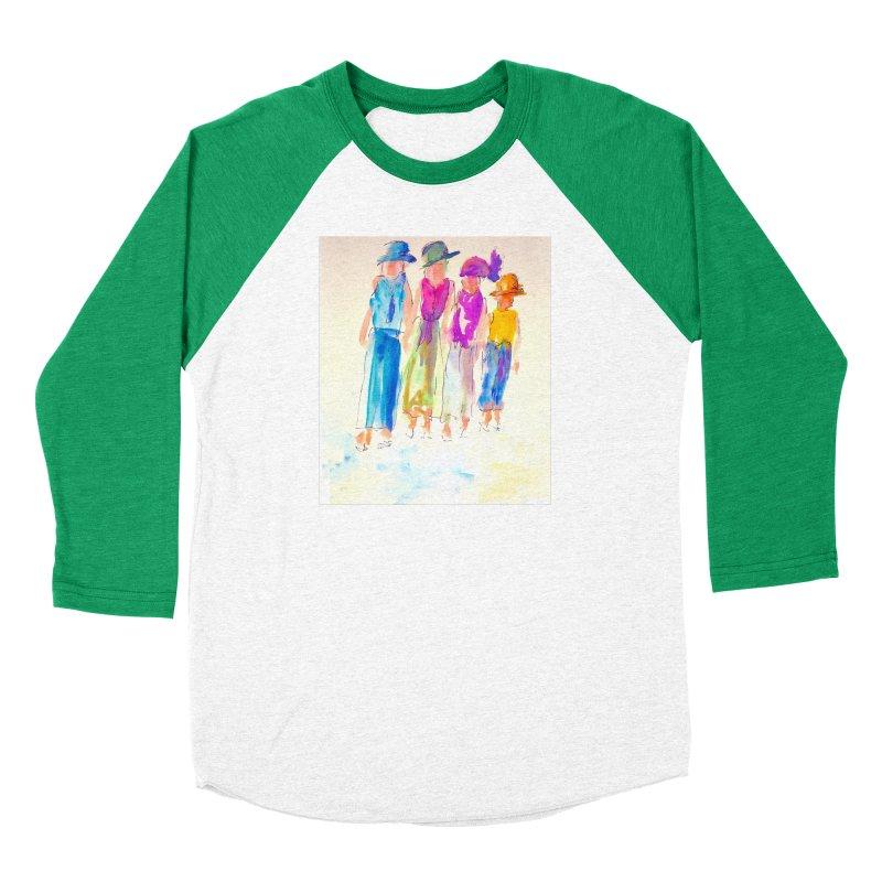 4 LADIES Women's Baseball Triblend Longsleeve T-Shirt by designsbydana's Artist Shop