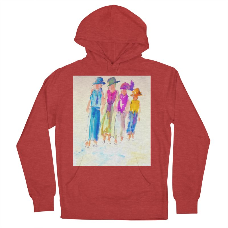 4 LADIES Women's French Terry Pullover Hoody by designsbydana's Artist Shop