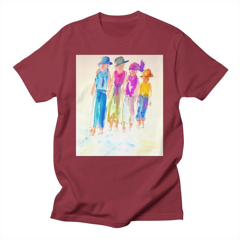 4 LADIES Women's Regular Unisex T-Shirt by designsbydana's Artist Shop