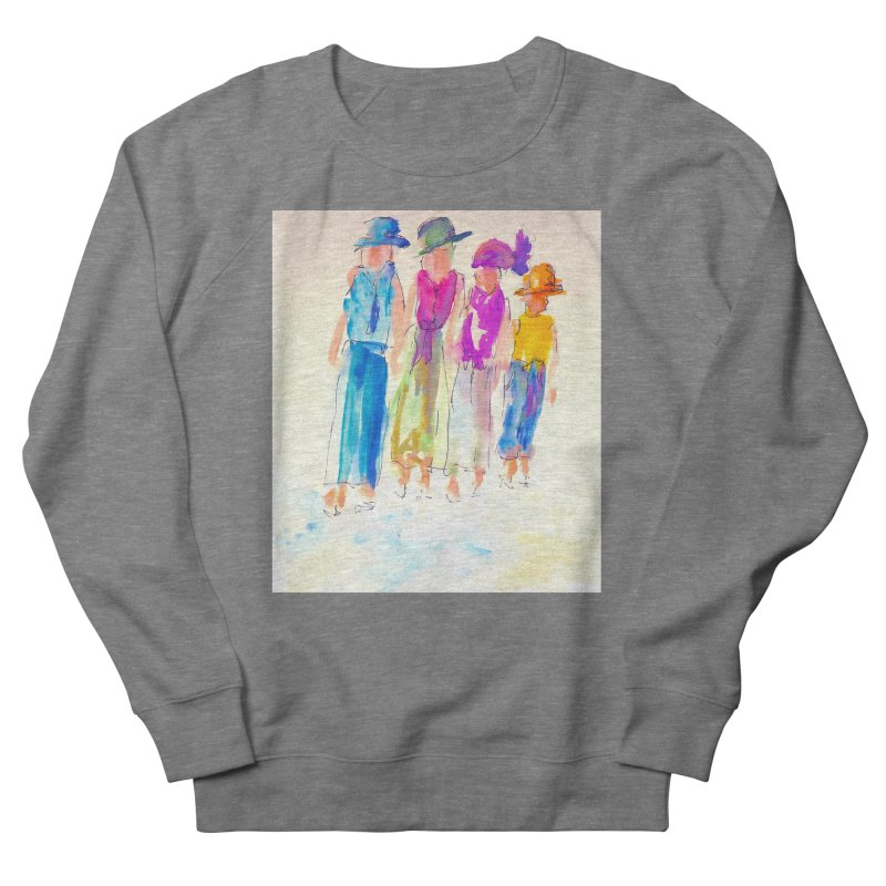 4 LADIES Women's French Terry Sweatshirt by designsbydana's Artist Shop