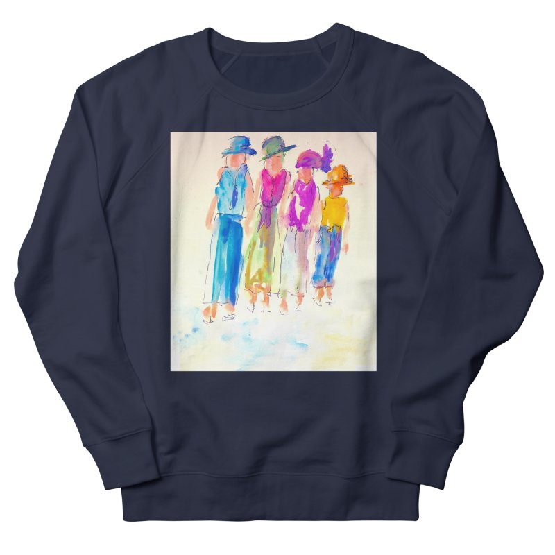 4 LADIES Women's French Terry Sweatshirt by designsbydana's Artist Shop