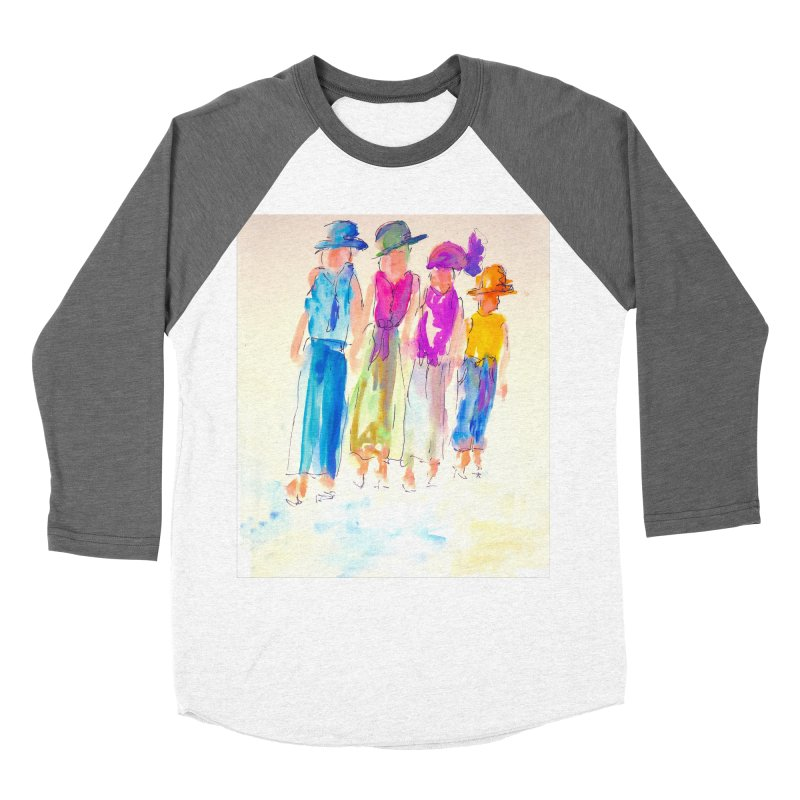 4 LADIES Women's Baseball Triblend Longsleeve T-Shirt by designsbydana's Artist Shop