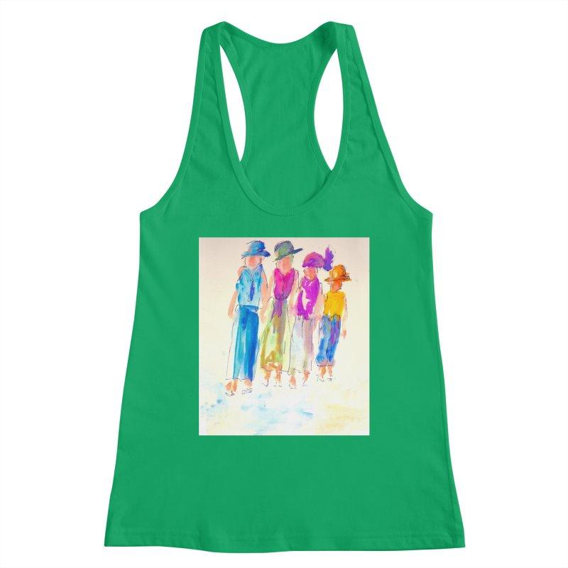 4 LADIES Women's Tank by designsbydana's Artist Shop