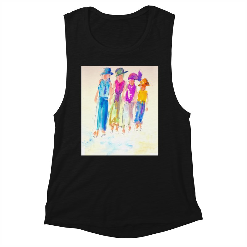 4 LADIES Women's Tank by designsbydana's Artist Shop