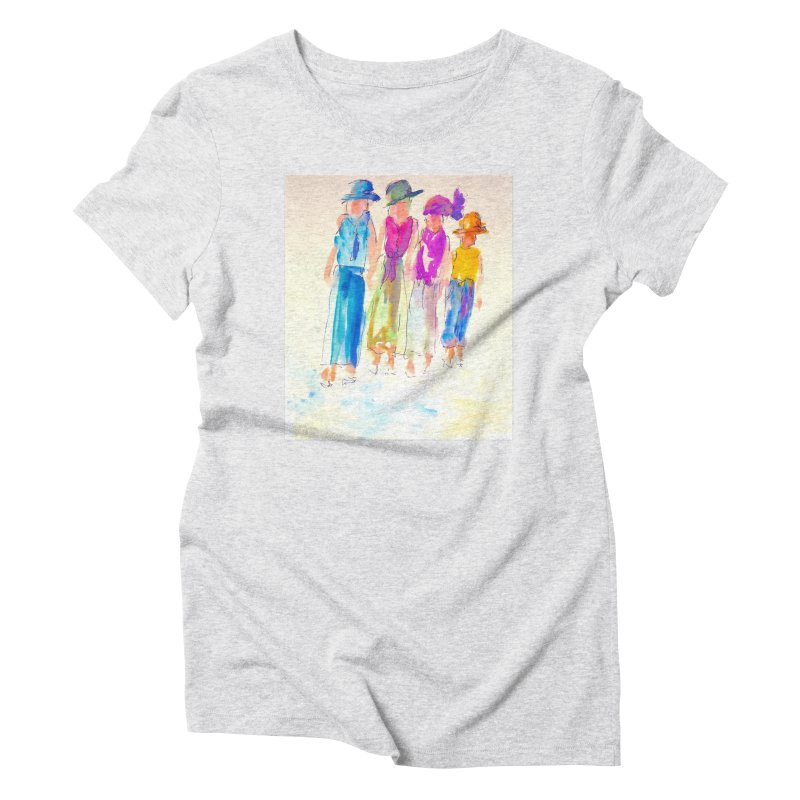4 LADIES Women's Triblend T-Shirt by designsbydana's Artist Shop