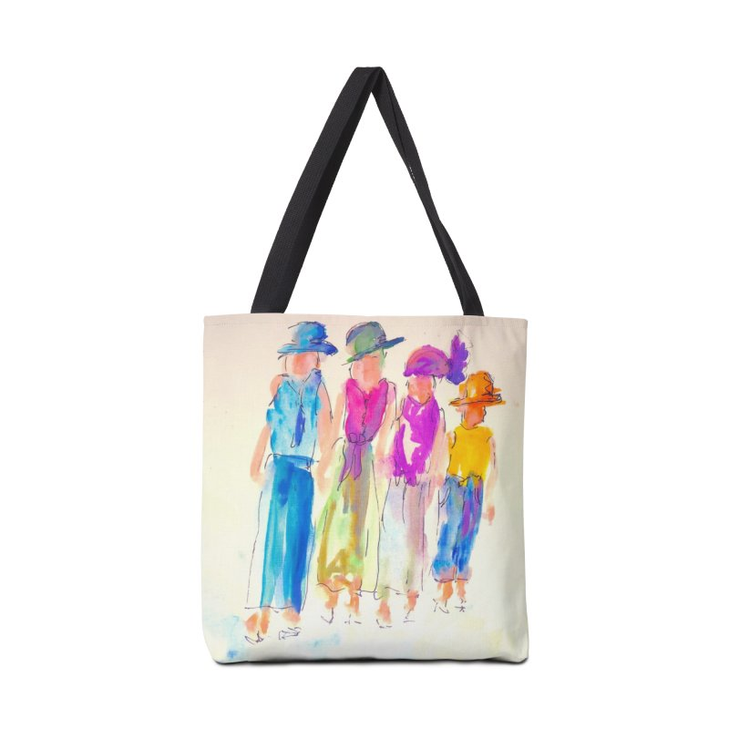 4 LADIES Accessories Tote Bag Bag by designsbydana's Artist Shop