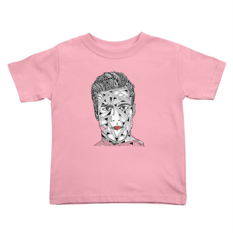 KISS ME IN THE MORNING Kids Toddler T-Shirt by designsbydana's Artist Shop