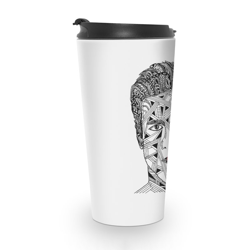 KISS ME IN THE MORNING Accessories Travel Mug by designsbydana's Artist Shop