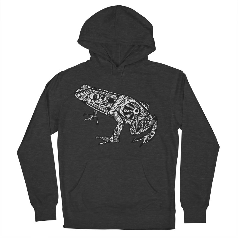 FROG Women's French Terry Pullover Hoody by designsbydana's Artist Shop