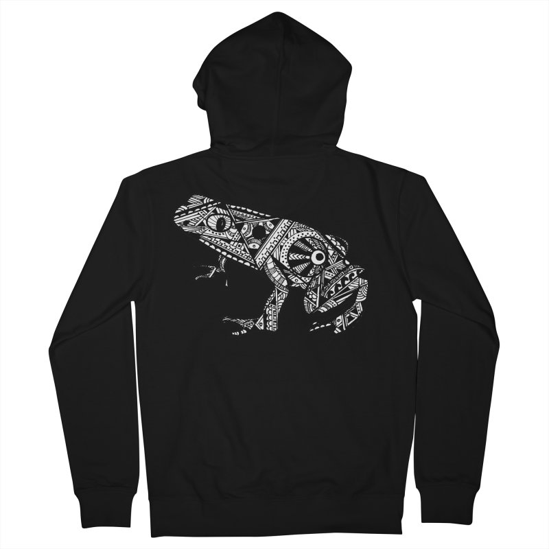 FROG Men's French Terry Zip-Up Hoody by designsbydana's Artist Shop