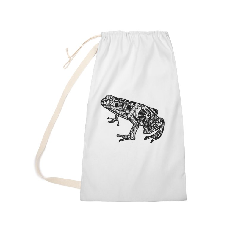 FROG Accessories Laundry Bag Bag by designsbydana's Artist Shop