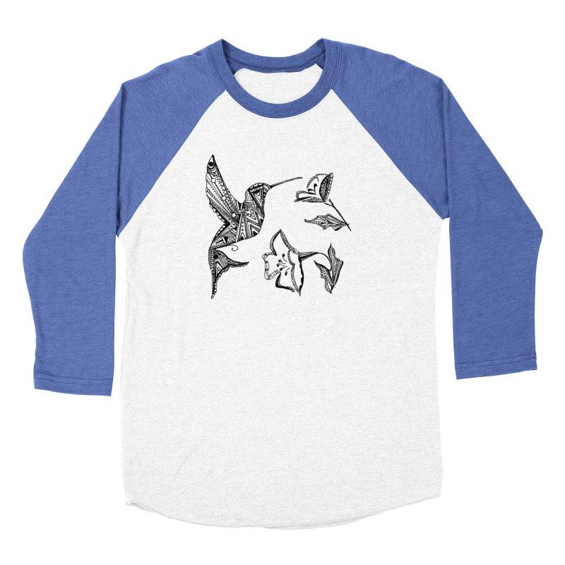 HUMMINGBIRD Women's Baseball Triblend Longsleeve T-Shirt by designsbydana's Artist Shop