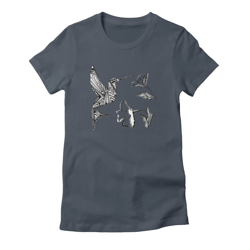 HUMMINGBIRD Women's T-Shirt by designsbydana's Artist Shop