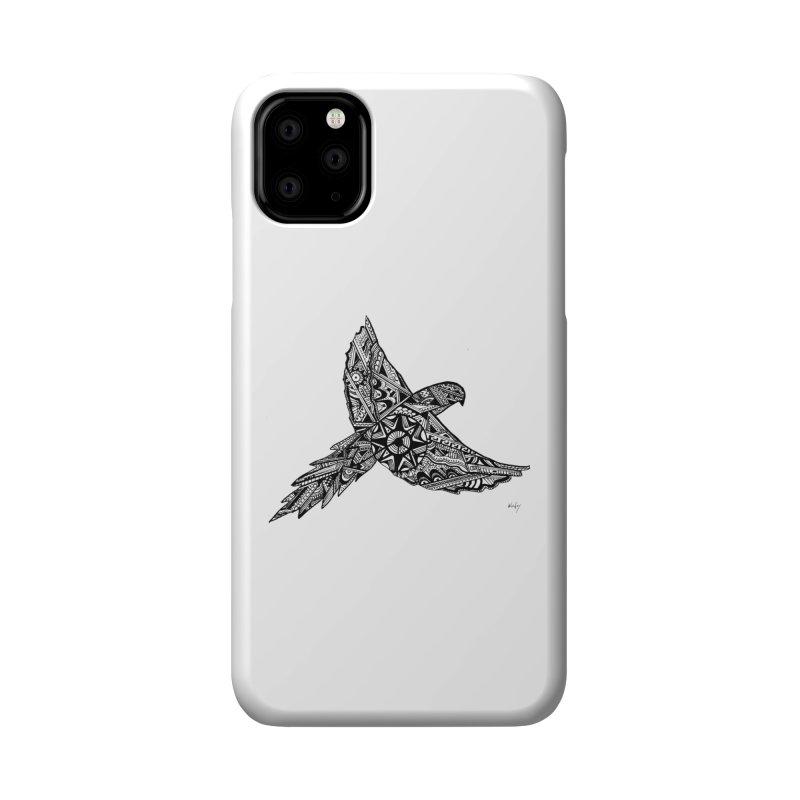 MACAW FLIGHT Accessories Phone Case by designsbydana's Artist Shop