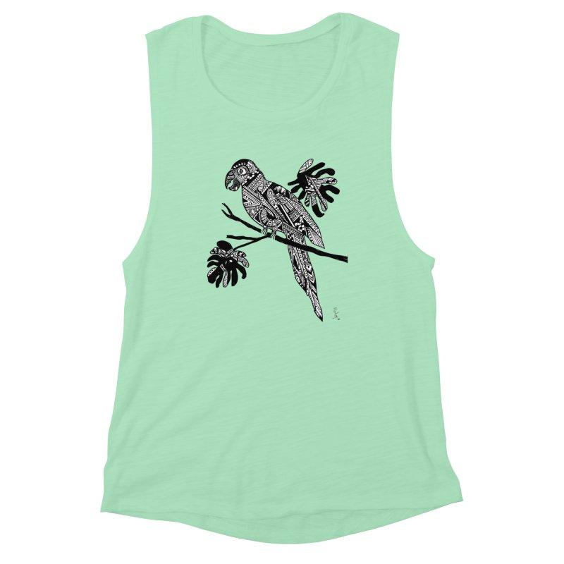 MACAW Women's Muscle Tank by designsbydana's Artist Shop
