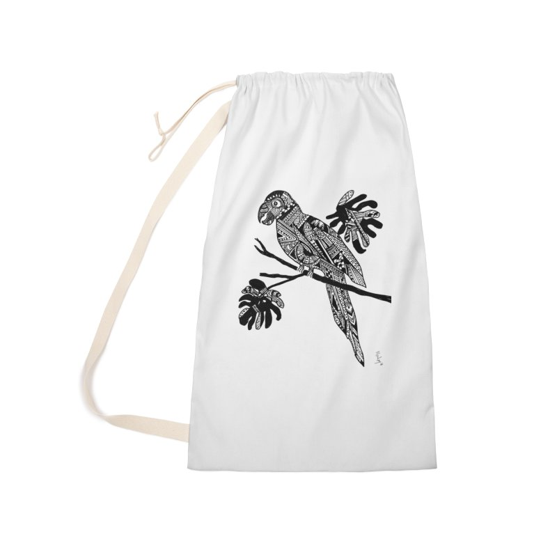 MACAW Accessories Laundry Bag Bag by designsbydana's Artist Shop