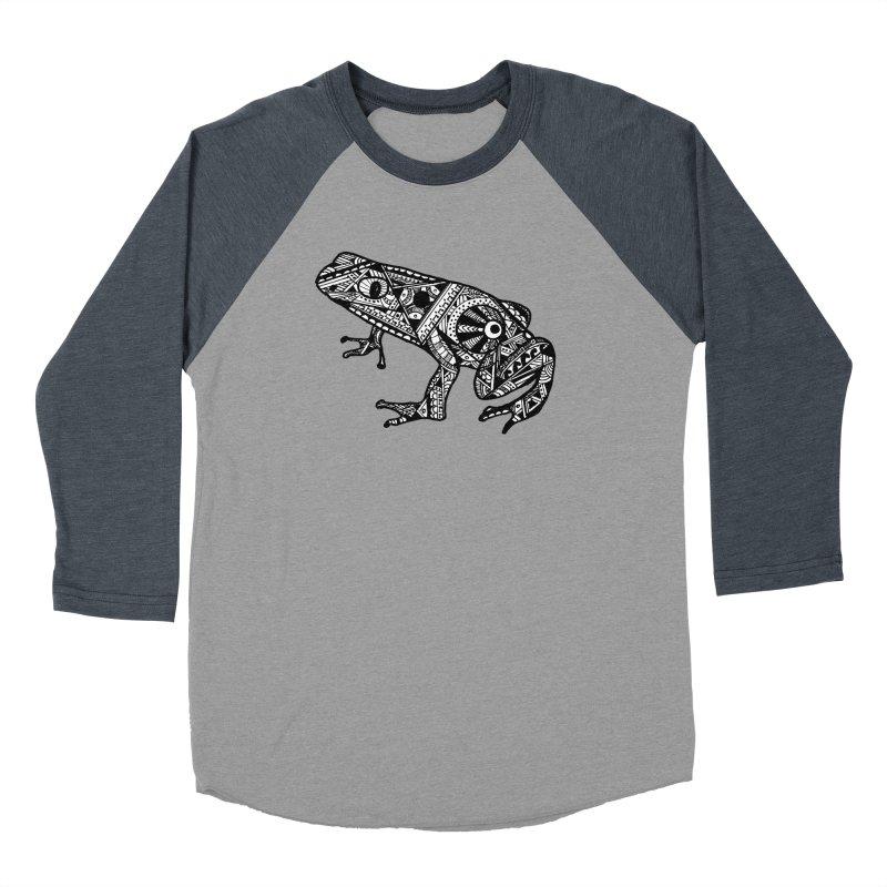FROG Women's Baseball Triblend Longsleeve T-Shirt by designsbydana's Artist Shop
