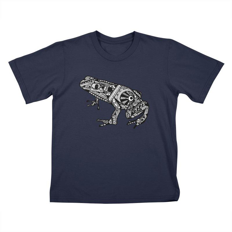 FROG Kids T-Shirt by designsbydana's Artist Shop