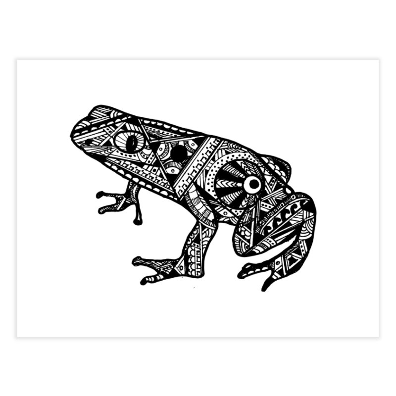 FROG Home Fine Art Print by designsbydana's Artist Shop