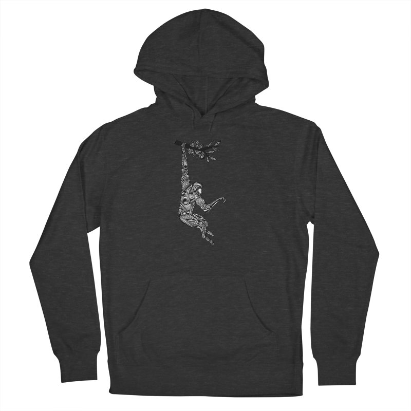 MONKEY Men's French Terry Pullover Hoody by designsbydana's Artist Shop