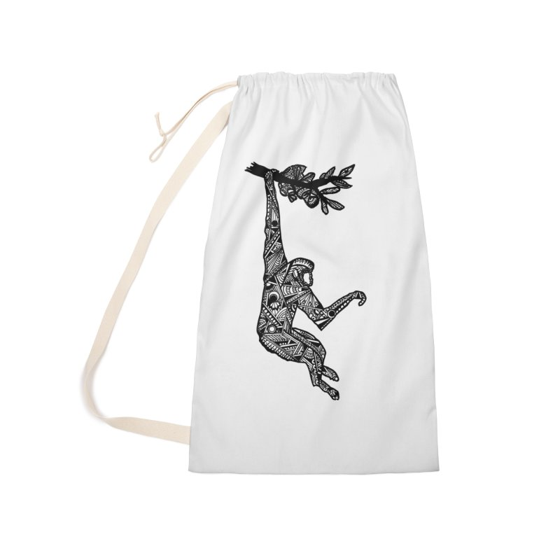 MONKEY Accessories Laundry Bag Bag by designsbydana's Artist Shop