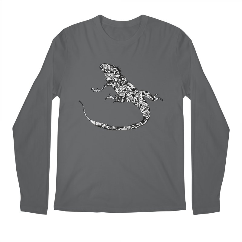 IGUANA Men's Regular Longsleeve T-Shirt by designsbydana's Artist Shop