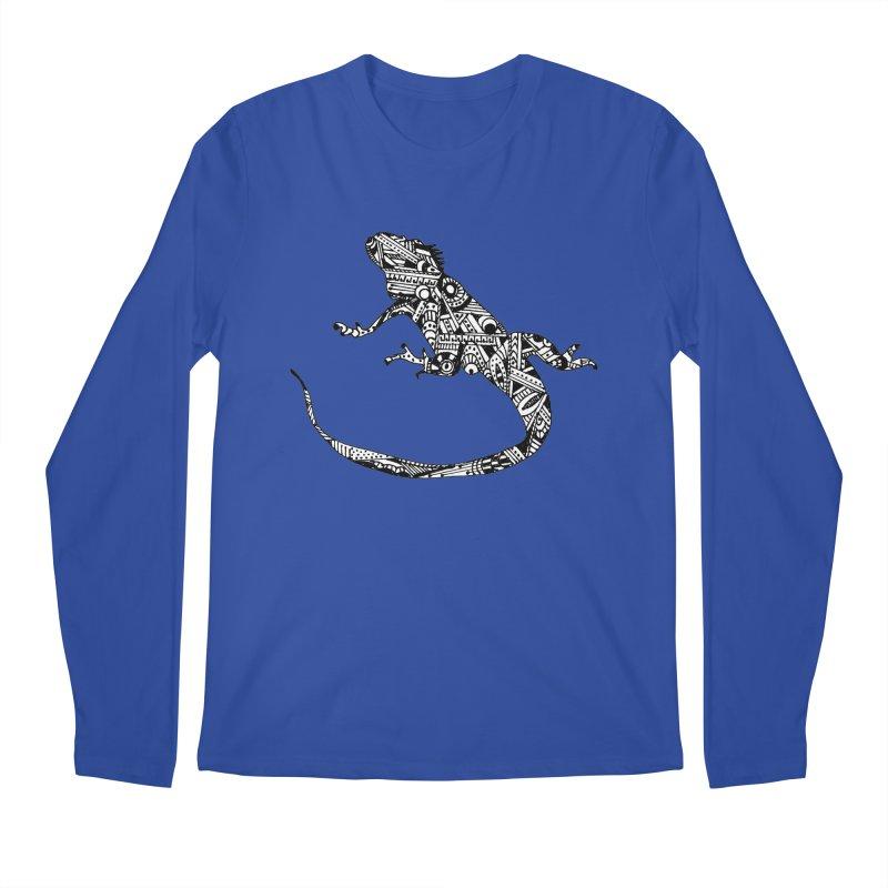 IGUANA Men's Regular Longsleeve T-Shirt by designsbydana's Artist Shop