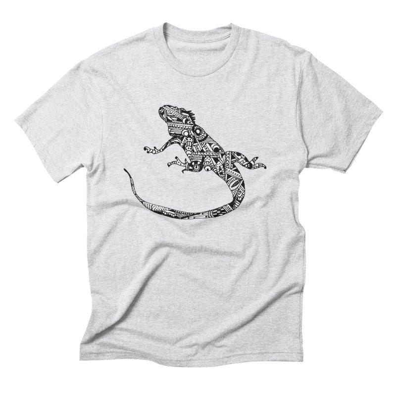 IGUANA Men's Triblend T-Shirt by designsbydana's Artist Shop