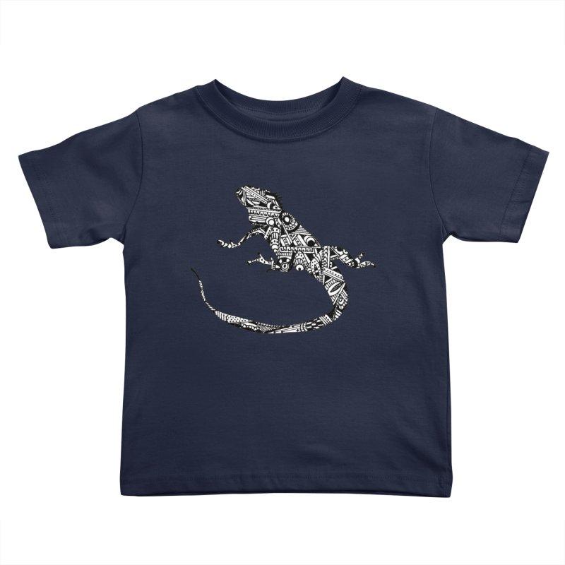 IGUANA Kids Toddler T-Shirt by designsbydana's Artist Shop