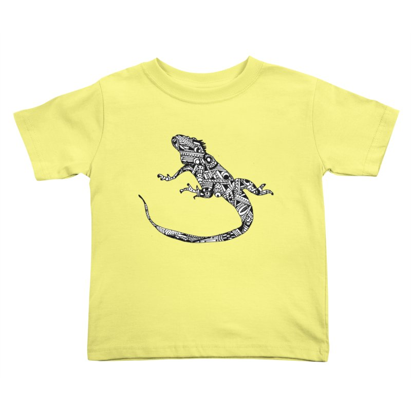 IGUANA Kids Toddler T-Shirt by designsbydana's Artist Shop