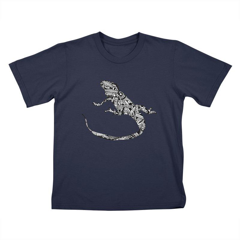 IGUANA Kids T-Shirt by designsbydana's Artist Shop