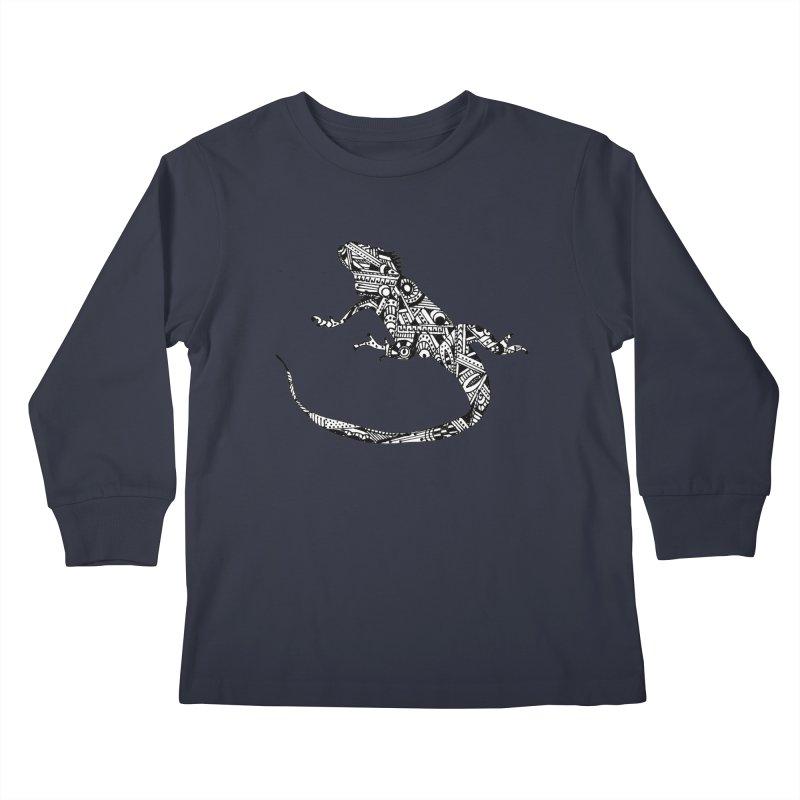 IGUANA Kids Longsleeve T-Shirt by designsbydana's Artist Shop