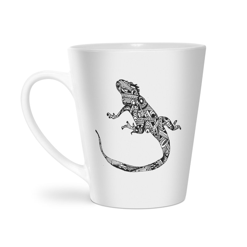 IGUANA Accessories Latte Mug by designsbydana's Artist Shop