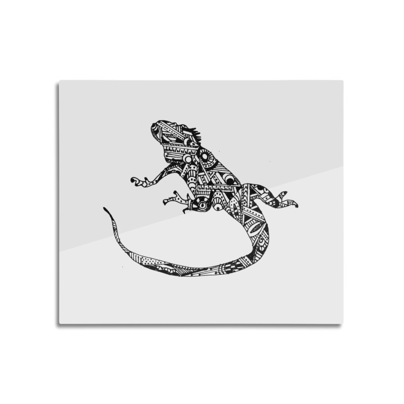 IGUANA Home Mounted Acrylic Print by designsbydana's Artist Shop