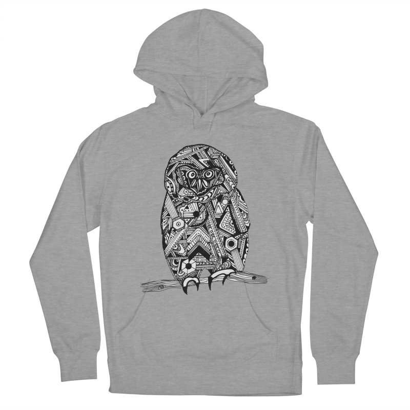 SPECTACLED OWL Women's Pullover Hoody by designsbydana's Artist Shop