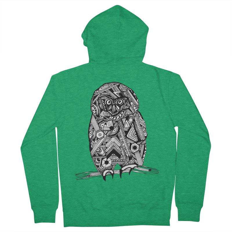 SPECTACLED OWL Women's Zip-Up Hoody by designsbydana's Artist Shop