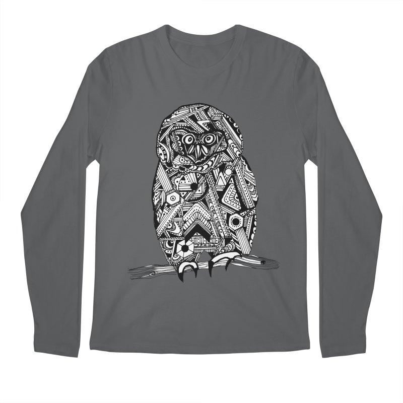 SPECTACLED OWL Men's Longsleeve T-Shirt by designsbydana's Artist Shop