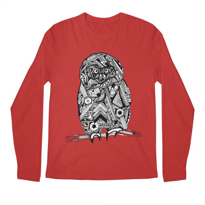 SPECTACLED OWL Men's Regular Longsleeve T-Shirt by designsbydana's Artist Shop