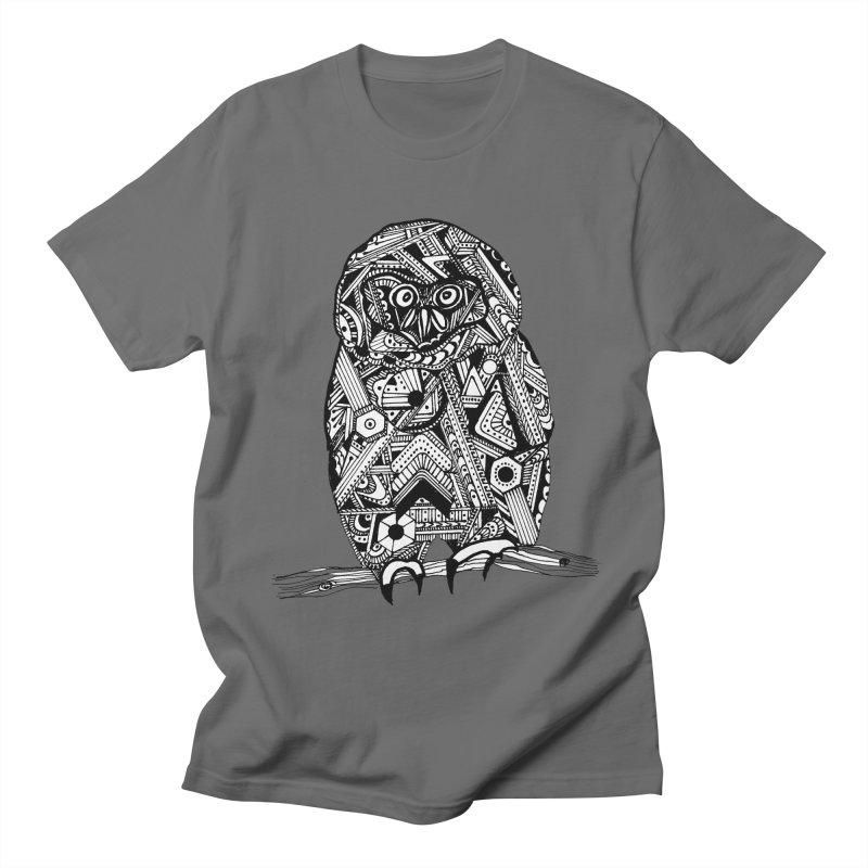 SPECTACLED OWL Men's T-Shirt by designsbydana's Artist Shop