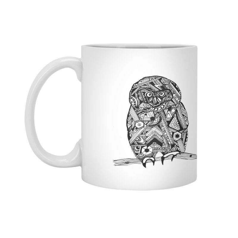 SPECTACLED OWL Accessories Mug by designsbydana's Artist Shop