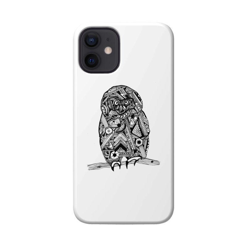 SPECTACLED OWL Accessories Phone Case by designsbydana's Artist Shop