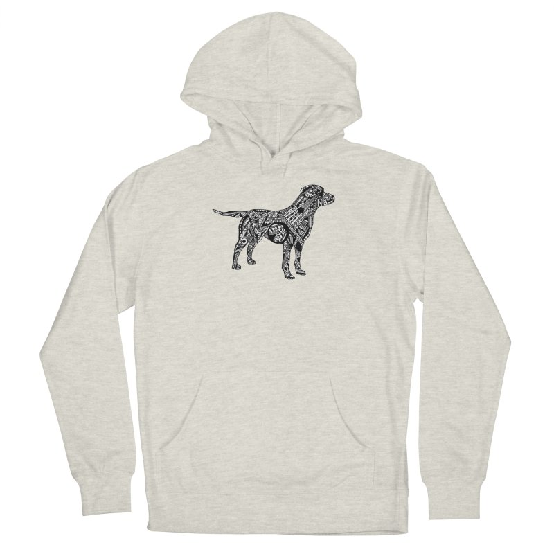 LABRADOR Women's French Terry Pullover Hoody by designsbydana's Artist Shop