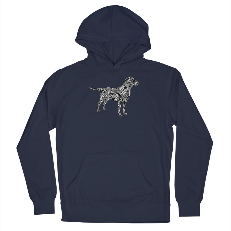 LABRADOR Men's French Terry Pullover Hoody by designsbydana's Artist Shop