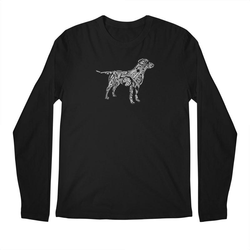 LABRADOR Men's Regular Longsleeve T-Shirt by designsbydana's Artist Shop