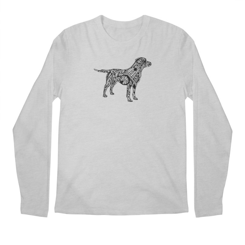 LABRADOR Men's Regular Longsleeve T-Shirt by designsbydana's Artist Shop