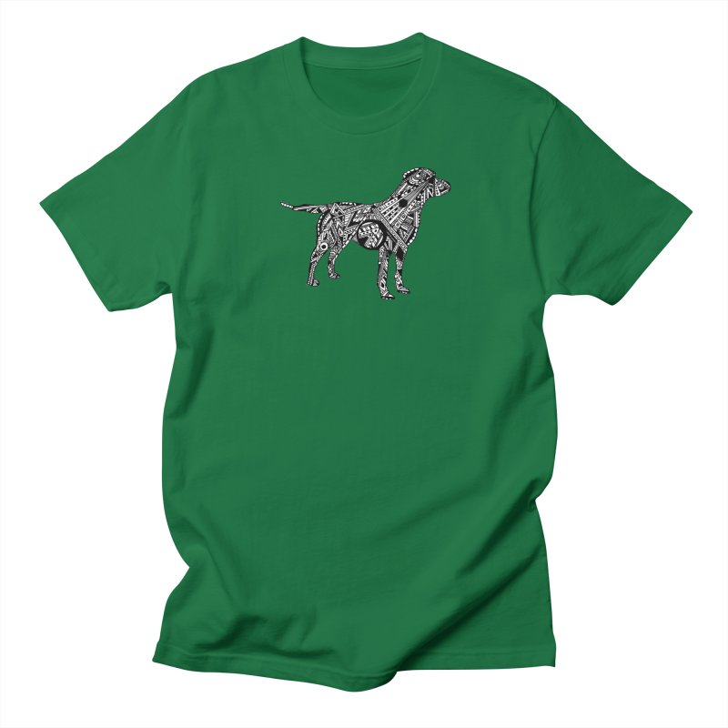 LABRADOR Men's Regular T-Shirt by designsbydana's Artist Shop